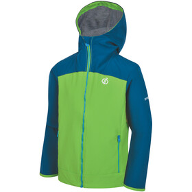 Dare 2b Gifted Softshell Jacket Boys Jasmine Green/Petrol Blue